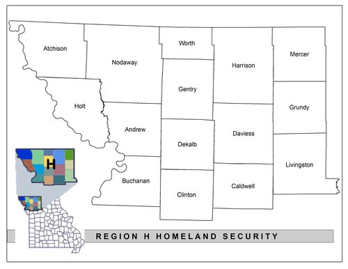 Mo-Kan HS Region H map