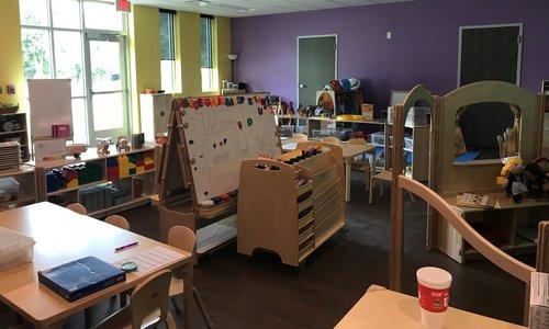 Cameron Preschool interior